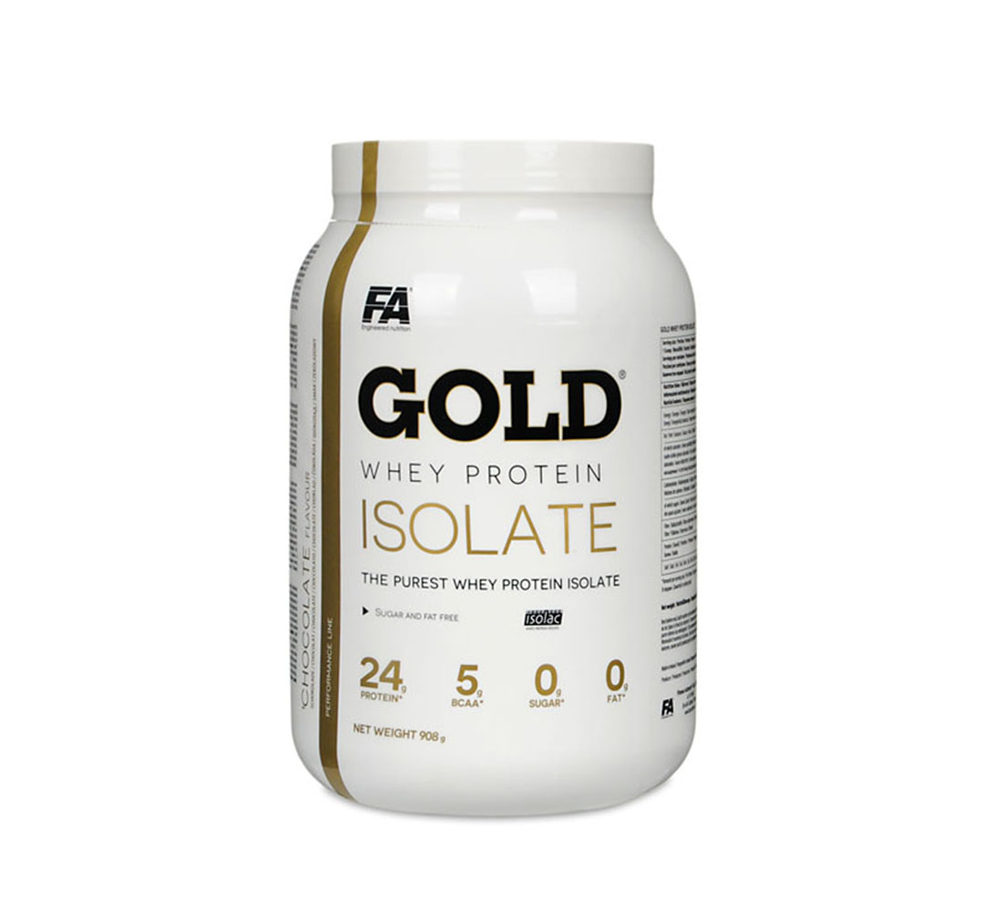 FA Nutrition Gold Whey Protein Isolate - 908g