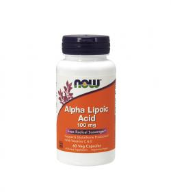 NOW Foods Alpha Lipoic Acid 100mg - 60kaps.