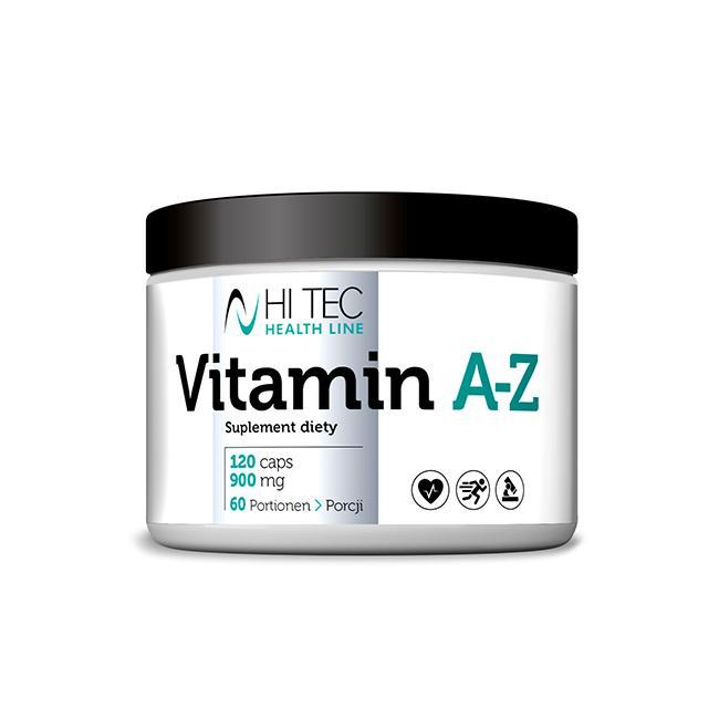 Hi Tec Vitamin A-Z Antioxidant - 120tabl.