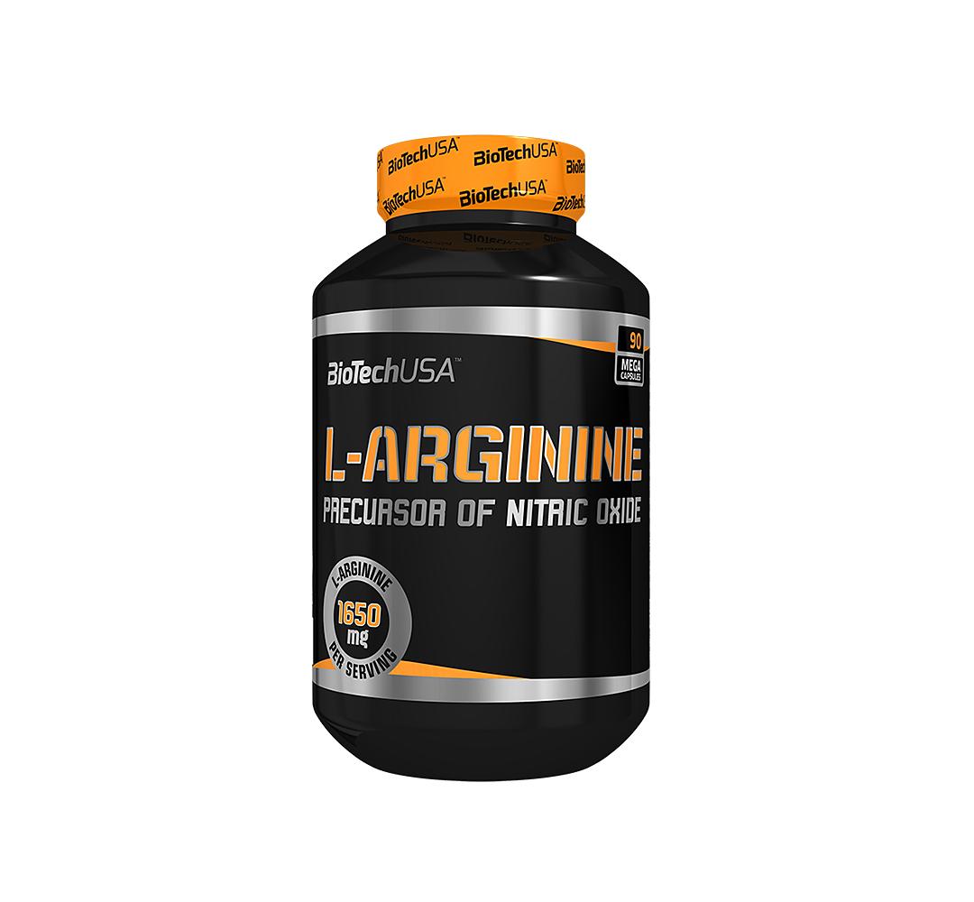 BioTech L-Arginine - 90kaps.