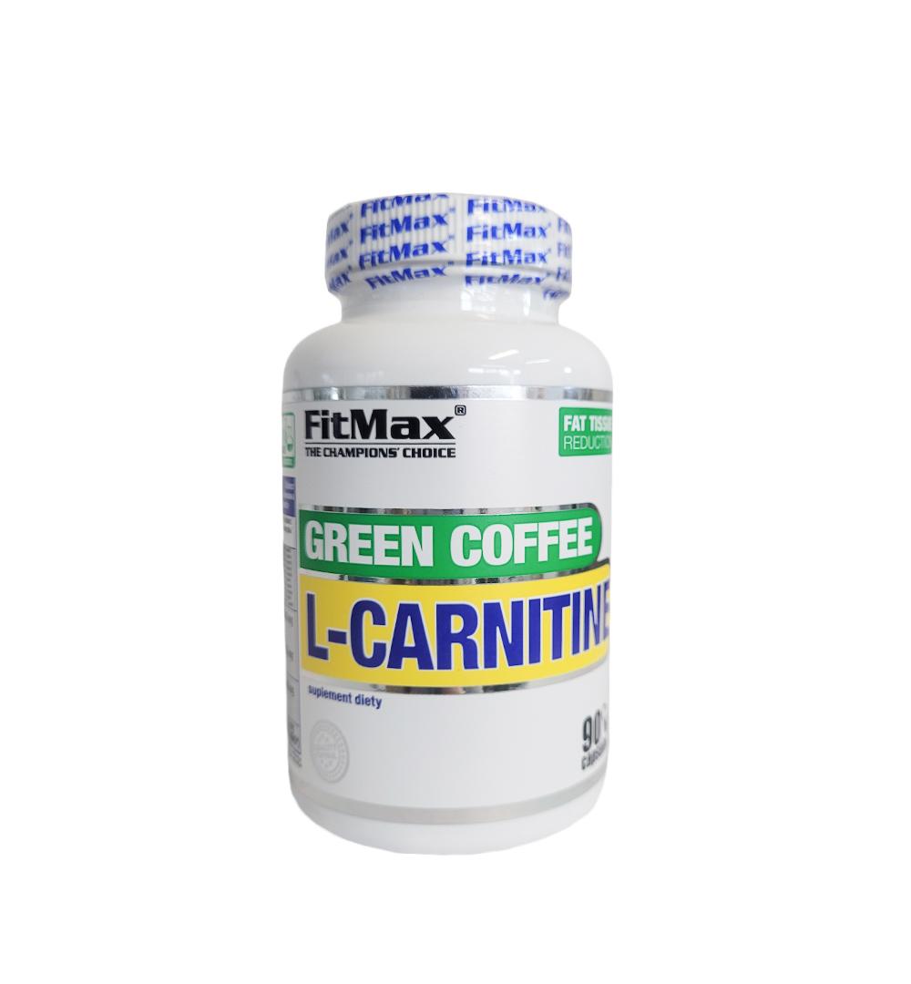 FitMax L-Carnitine Green Coffe - 90kaps.
