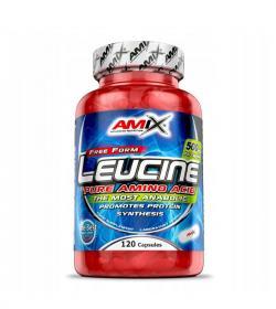 Amix L-Leucine PURE 1000mg - 120kaps.