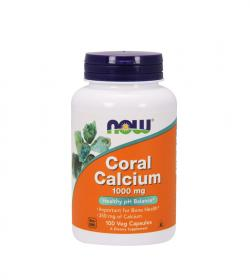 NOW Foods Coral Calcium (1000mg) - 250kaps.