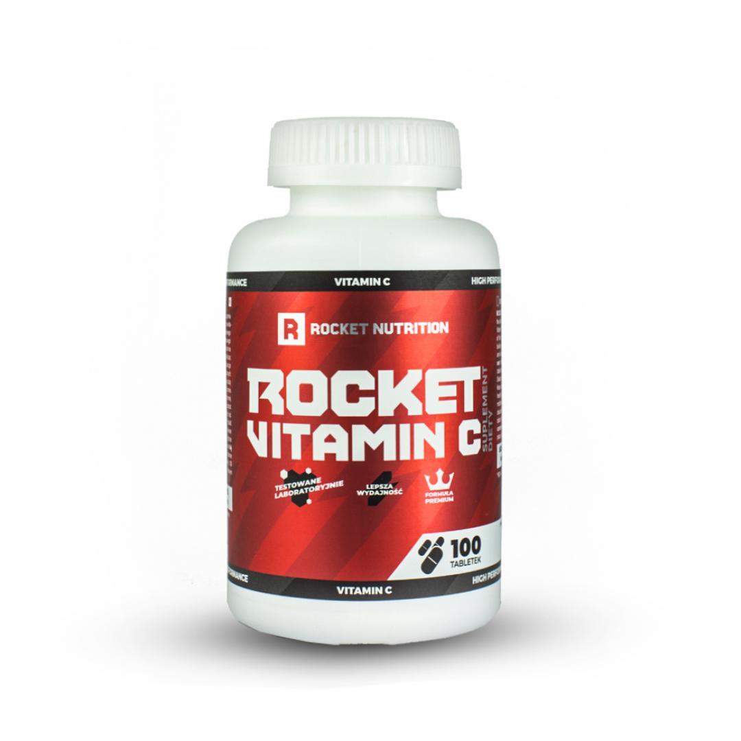 Rocket Nutrition Rocket Vitamin C - 100tabl.
