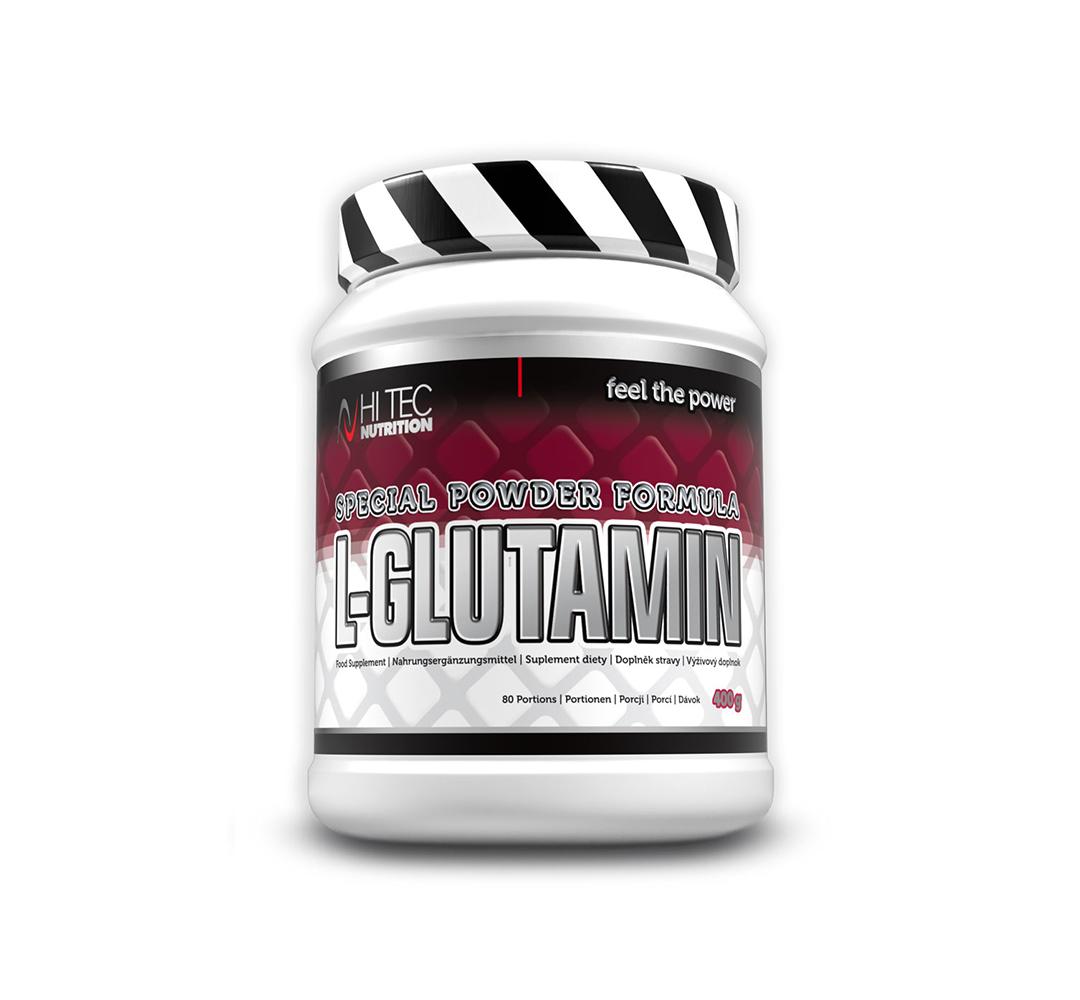 Hi Tec L-Glutamin - 400g