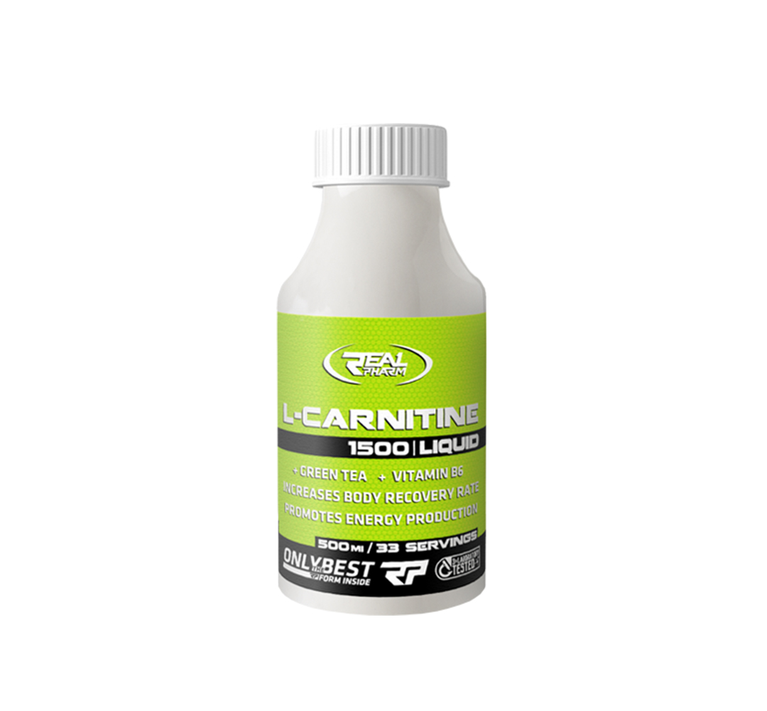 Real Pharm Carnitine 1500 Liquid - 500 ml
