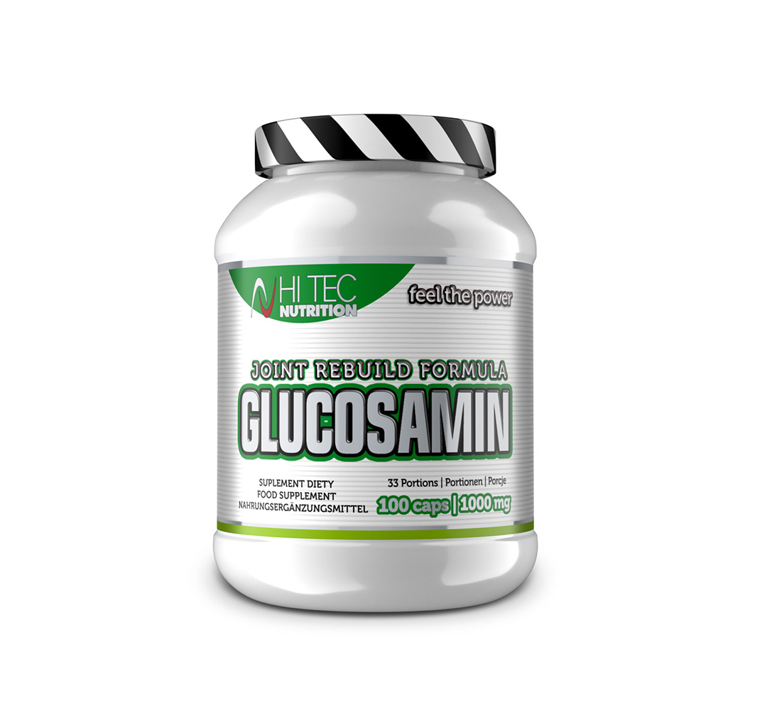 Hi Tec Glucosamin - 100kaps.