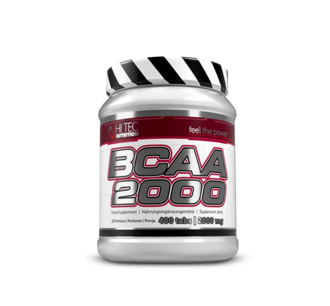 Hi Tec BCAA 2000 - 400tabl.