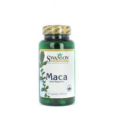Swanson Maca 500mg - 100kaps.