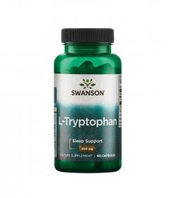 Swanson L-Tryptophan 500mg - 60kaps.