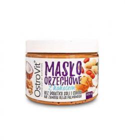 Ostrovit Masło orzechowe z kokosem - 500g