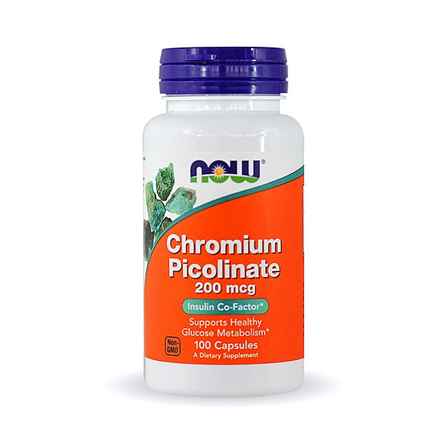 NOW Foods Chromium Picolinate - 250kaps.