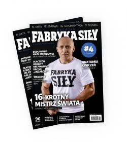Magazyn Fabryka Siły #4 (Listopad 2018)