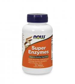 NOW Foods Super Enzymes - 90tabl.