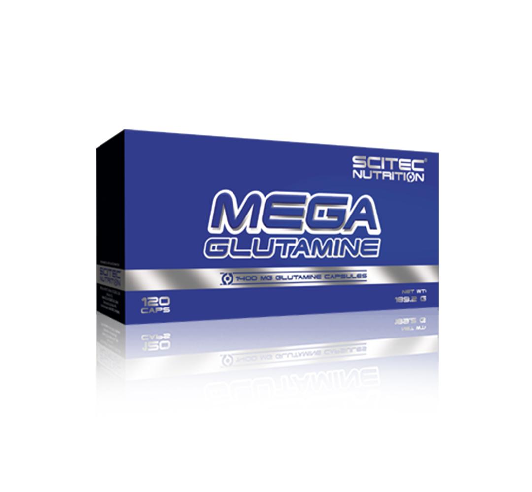 Scitec Mega Glutamine - 120kaps.