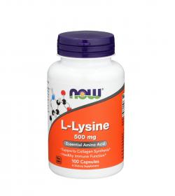 NOW Foods L-Lysine - 100kaps.