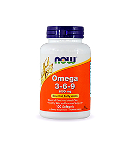 NOW Foods Omega 3-6-9 - 100kaps.