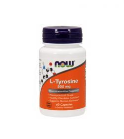 NOW Foods L-Tyrosine - 60 kaps.