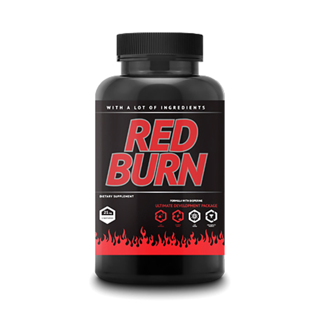 FitLabs Red Burn - 120kaps.