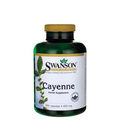 Swanson Cayenne 450mg - 300kaps.