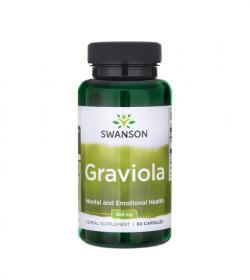 Swanson Graviola - 60kaps.