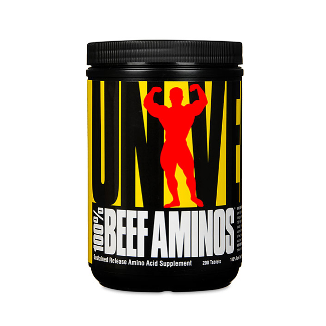 Universal Nutrition 100% Beef Amino - 200tabl.