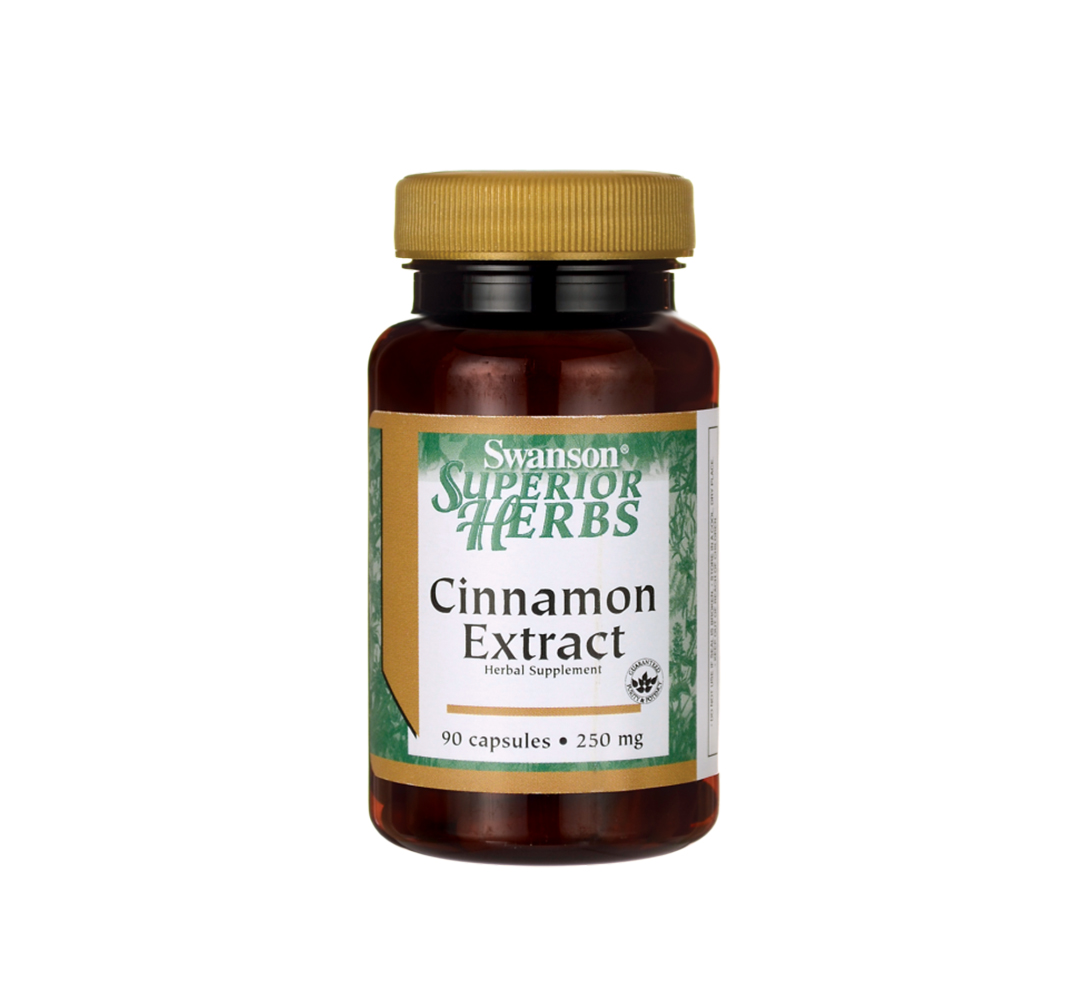 Swanson Cinnamon Extract - 90kaps.