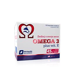 Olimp Omega 3 wit. E - 120 kaps.