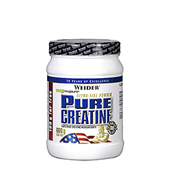 Weider Pure Creatine - 500g + 100g FREE