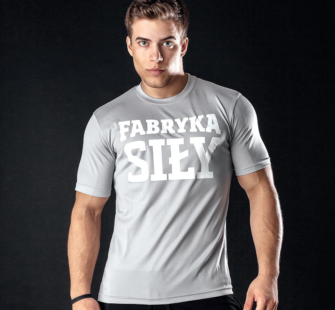 Fabryka Siły T-shirt Gray - 1 szt.