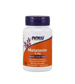 NOW Foods Melatonin - 60 kaps.