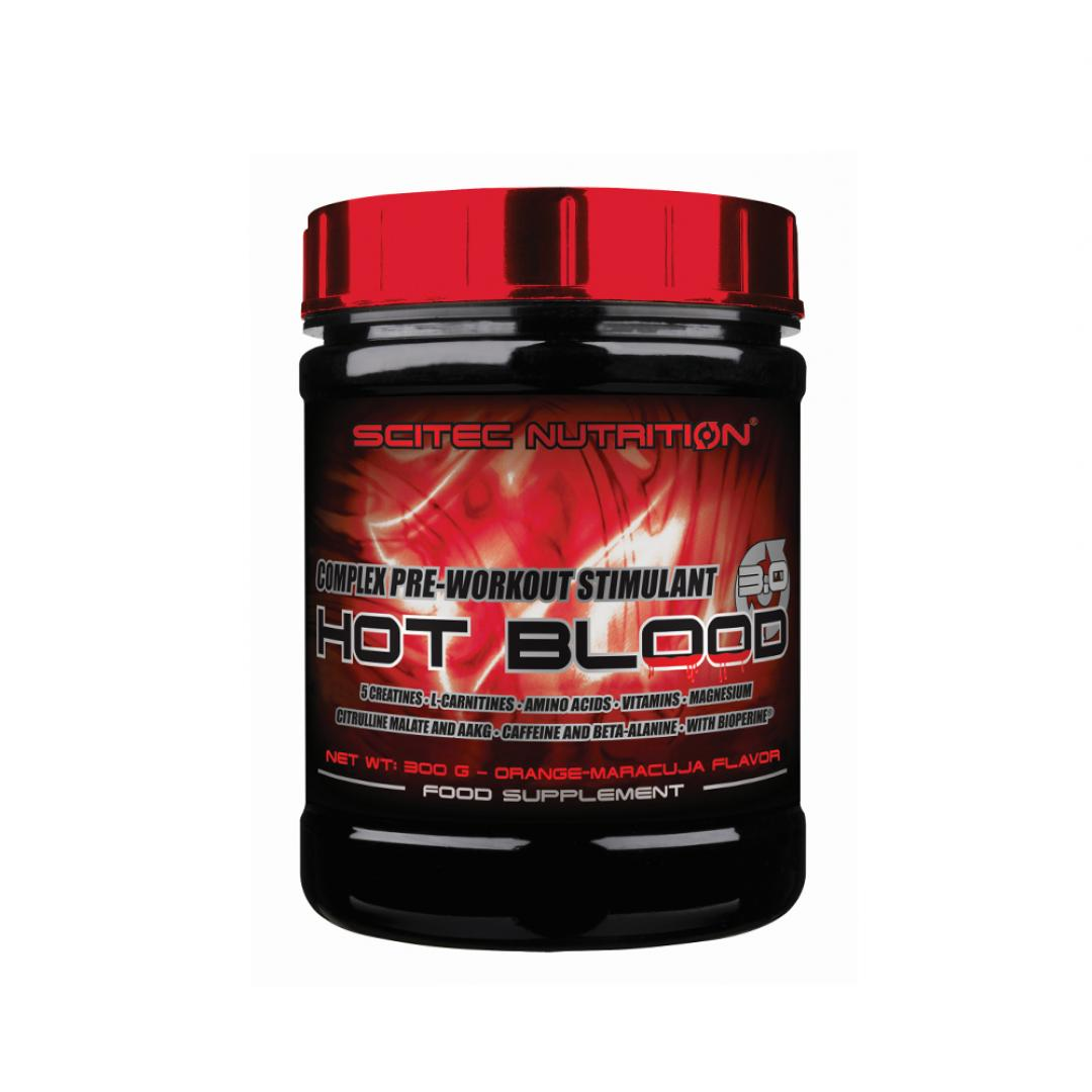 Scitec Hot Blood 3.0 - 300g