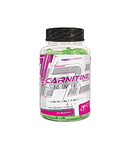 Trec L-Carnitine + Green Tea - 180kaps.