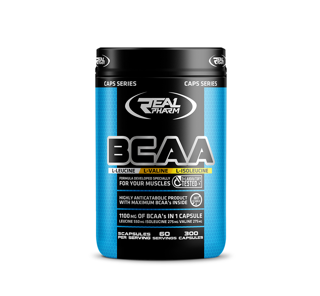 Real Pharm BCAA - 300kaps.