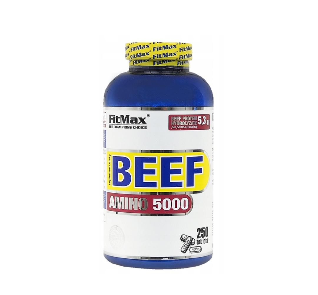 FitMax Beef Amino 5000 - 250tabl.