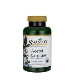 Swanson ALC (Acetyl L-Karnityny) 500mg - 100kaps.