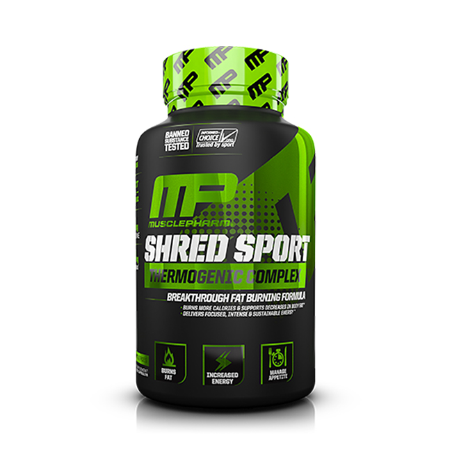 MusclePharm Shred Sport - 60kaps.