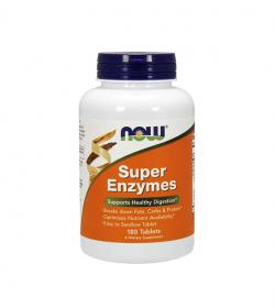 NOW Foods Super Enzymes - 180tabl.
