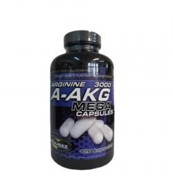 Vitalmax A-AKG Arginine 3000 Mega Capsules - 120kaps.