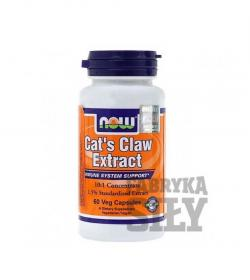 "NOW Foods Cat's Claw Extract (dawne ""5000"") - 60 kaps."