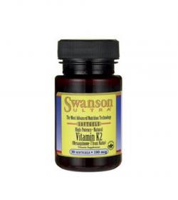 Swanson Witamina K2 100 µg - 30kaps.