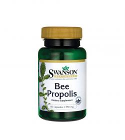 Swanson Bee Propolis 550mg - 60 kaps.