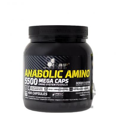 Olimp Anabolic Amino 5500 Mega Caps - 400kaps.