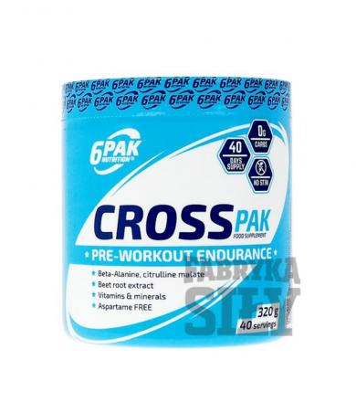 6PAK Nutrition CROSS PAK - 320g