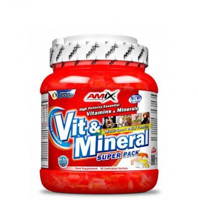 Amix Super Pack Vit&Minerals - 30sasz.