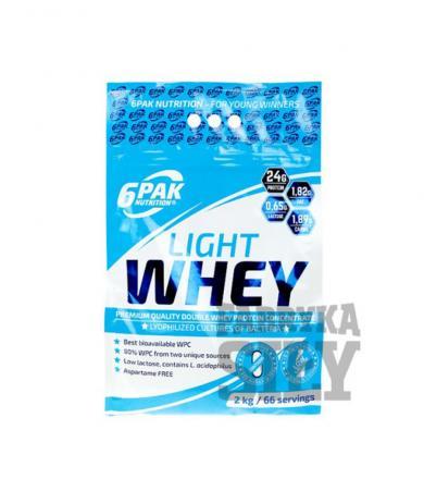 6PAK Nutrition LIGHT WHEY - 2000g