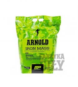 MusclePharm ARNOLD Iron Mass - 4,54kg