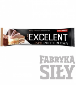 Nutrend Excelent Protein Bar DOUBLE - 85g