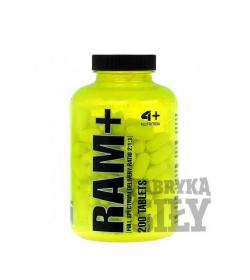 4+ Nutrition Ram+(BCAA) - 200 tabl.