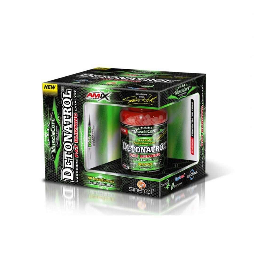 Amix MuscleCore Detonatrol Fat Burner BOX - 90kaps.